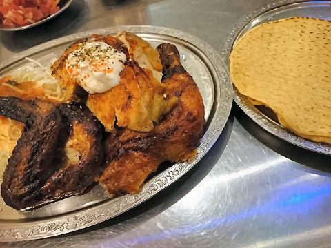 墨国回転鶏(半羽)@墨国回転鶏料理
