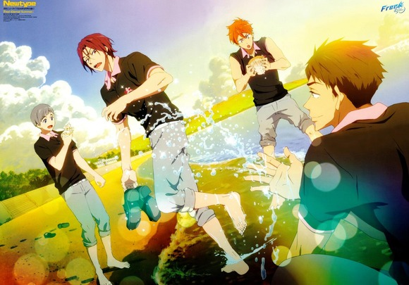 Free! -Eternal Summer- ピンナップ 1