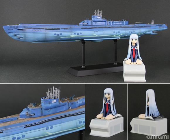 蒼き鋼のアルペジオ -アルス・ノヴァ- 潜水艦 イ401 with イオナ