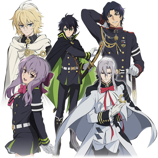終わりのセラフ_Seraph of the End animated TV series