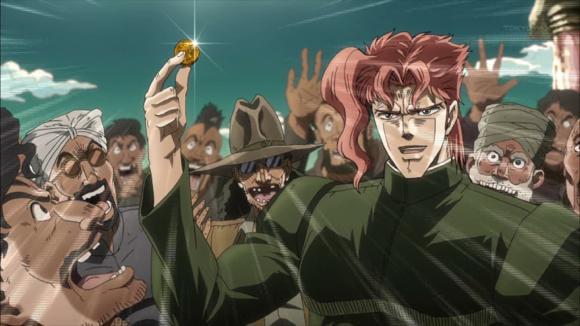 ジョジョの奇妙な冒険 第11話 キャプチャ画像