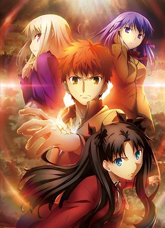 Fate/stay night アニメキーヴィジュアル