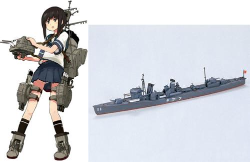 1_700 艦隊これくしょん プラモデル 25 艦娘 駆逐艦 吹雪