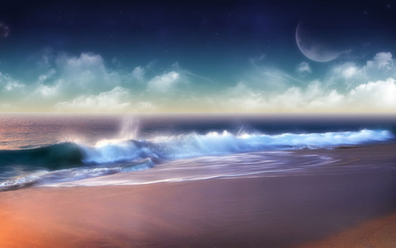 Beautiful Beach Images Hd Nature: 【壁紙】おしゃれな雰囲気のPC壁紙!!(風景多め) : そくどく!