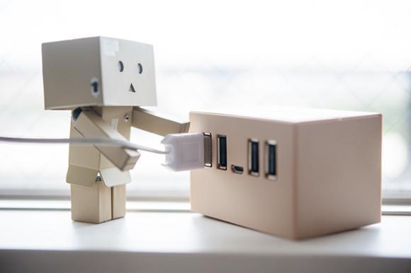 002 ダンボー USB ハブ
