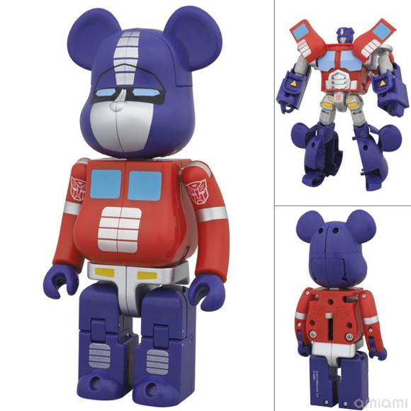 BE@RBRICK × TRANSFORMERS OPTIMUS PRIME