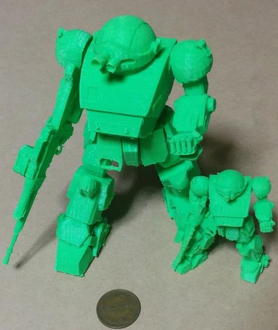 001 3Dプリンタ 製作例