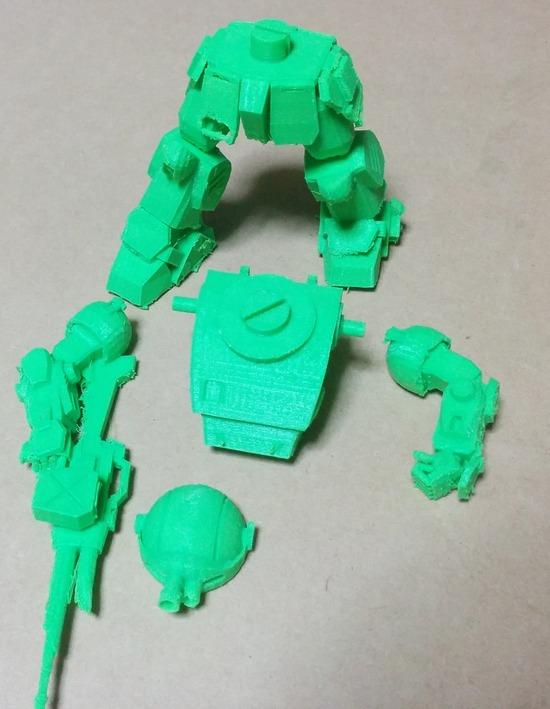 002 3Dプリンタ 製作例