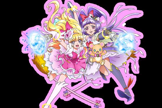 魔法使いプリキュア! main-character