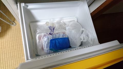 冷凍庫の魔物
