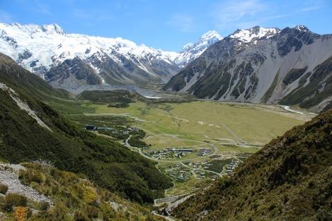 ニュージーランドの自然