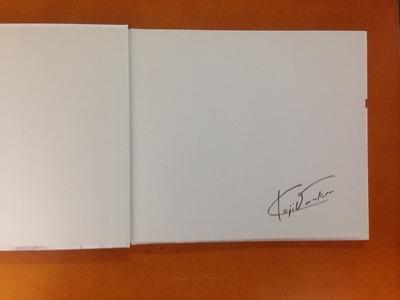 尾仲浩二写真集『SHORT TRIP AGAIN matatabi 2』署名