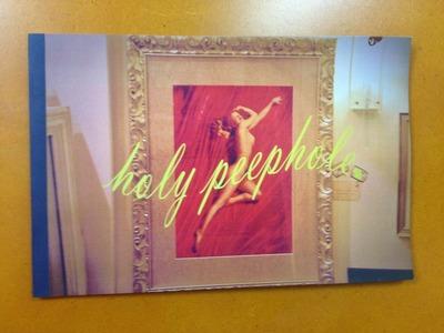 石毛優花写真集『holy peephole』