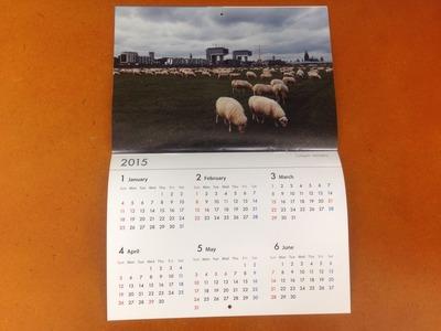 尾仲浩二 2014年カレンダー HORSE 3