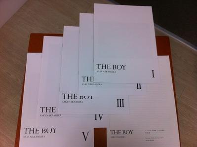 中村早写真集『THE BOY』set