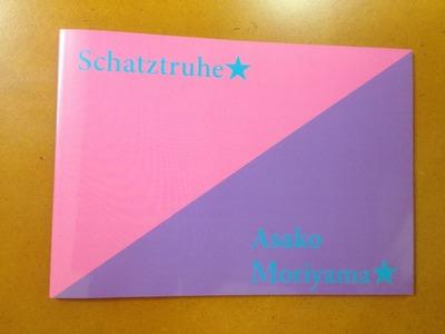 森山朝子画集『Schatztruhe』