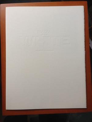 沢渡朔写真集『NADIA WITH WHITE』