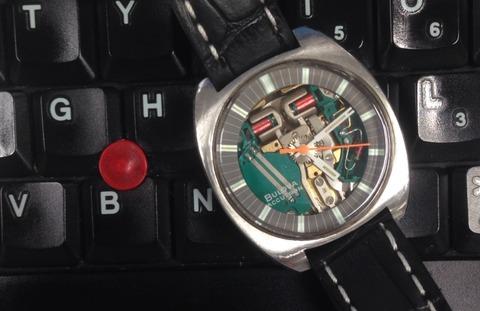 時計拝見 BULOVA Accutron