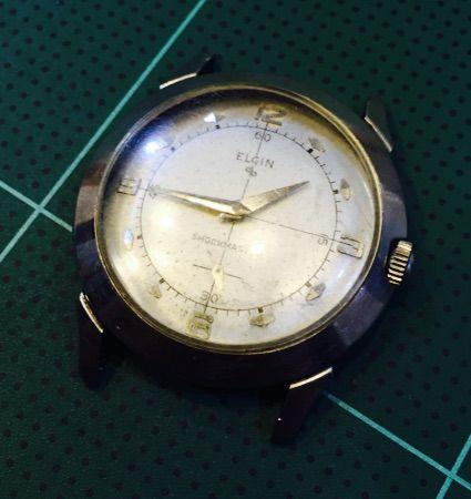 ELGIN 手巻き時計の修理 その1