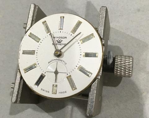 時計の贈り物、スーベリン手巻き時計 その1