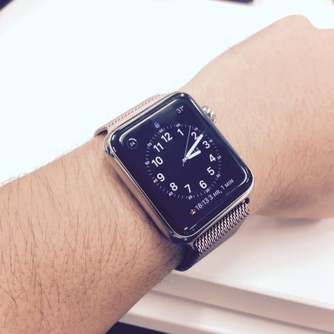 Apple Watch も悪くない