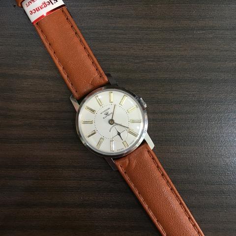 時計の贈り物、スーベリン手巻き時計 その2