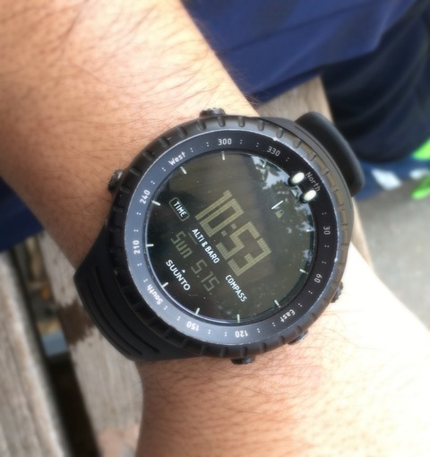 SUUNTO CORE ALL BLACKでサッカー!