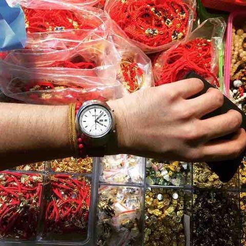 SEIKOフジツボと数珠ブレスのお買い物