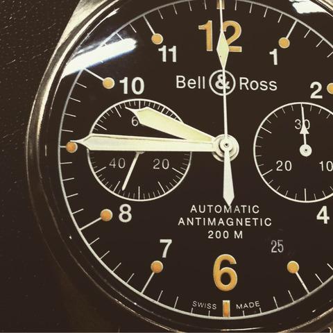 BELL&ROSS Vintage126やっぱいいなあ