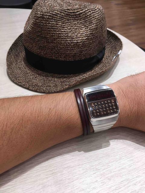 お気に入りの帽子と時計 HP-01編