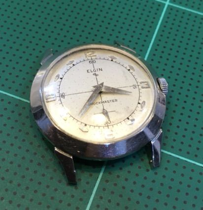 ELGIN 手巻き時計の修理 その4