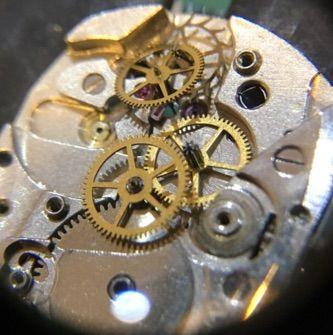 ELGIN 手巻き時計の修理 その2