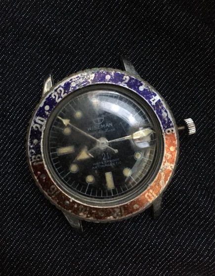 ジャンク時計購入 WISEMANN PEPSI BESEL