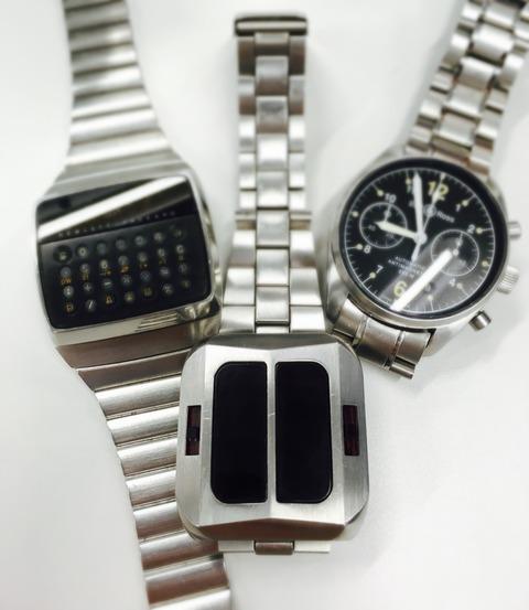 三本の侍 (HP-01、Synchronar Mk1、BELL & ROSS Vintage 126)