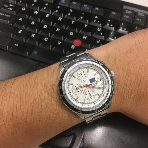 SEIKO NASA SPINOFF /  SPACE MOVE CHRONOGRAPH (クォーツクロノ)