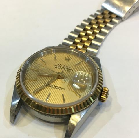 Rolex Datejust 16233 修理と研磨、その1