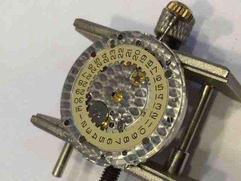 Rolex 16233G 分解洗浄 日の裏側