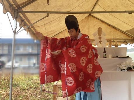 お清め事は滝川神社で