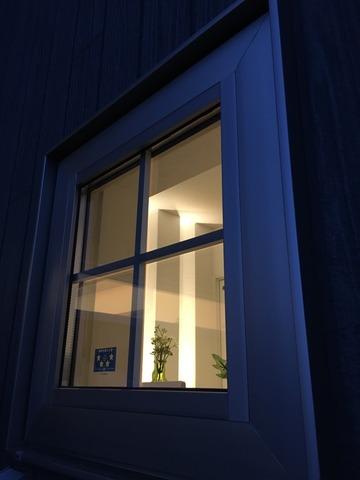 可愛い格子窓