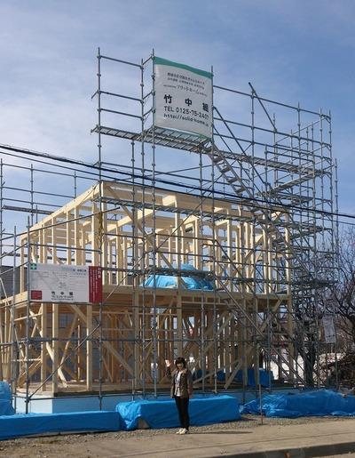 きれいな工事は安全を呼ぶ。自分の家は安全に建てて欲しい施主の願い