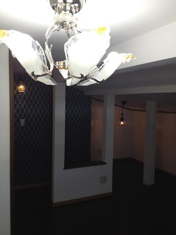 洋館のような二階部屋