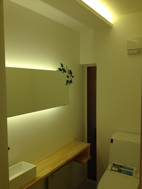 オリジナル造作トイレ竹中組