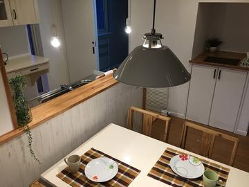 レトロ電球風LEDペンダントと北欧テイストの演出