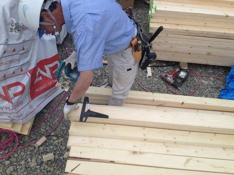 �竹中組の建てるモダン二世帯住宅
