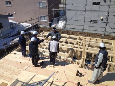 強靭な家造りのための現場会議