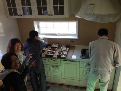 ウッドワンのキッチン