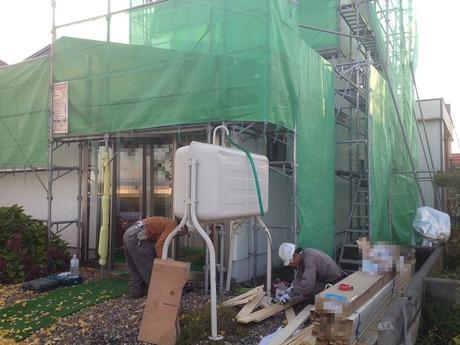 1 外壁工事 ガルバリウム金属サイディング