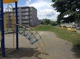児童公園の山
