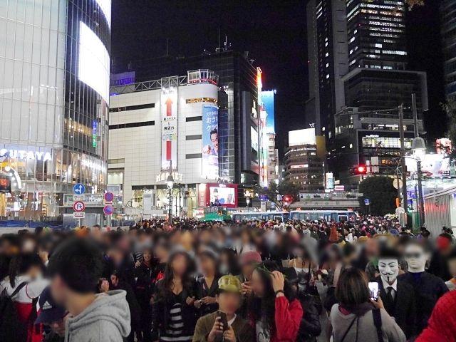 【ハロウィン2018】渋谷に「キティちゃん」の仮装をして行ってみた! 人の数は去年以上か!?