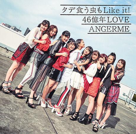 アンジュルム「タデ食う虫もLike it!/46億年LOVE」フラゲ4位(売上27251枚以下)